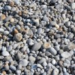Pebbles on a bech — Stock fotografie