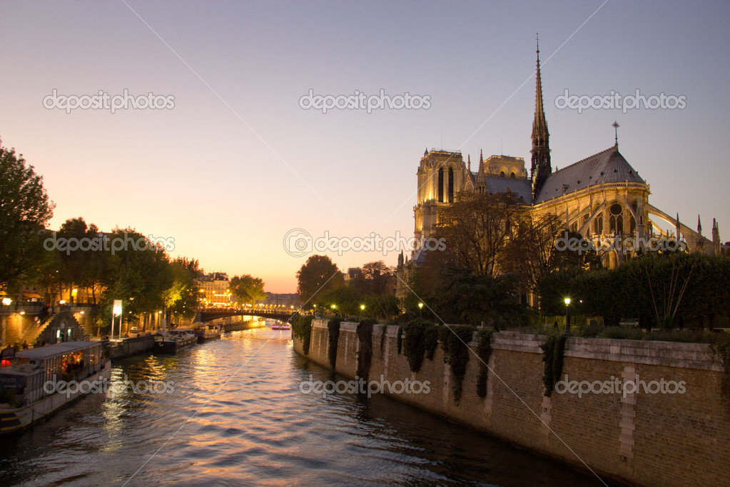A picture taken inside Paris - France — Foto de Stock   #7280058