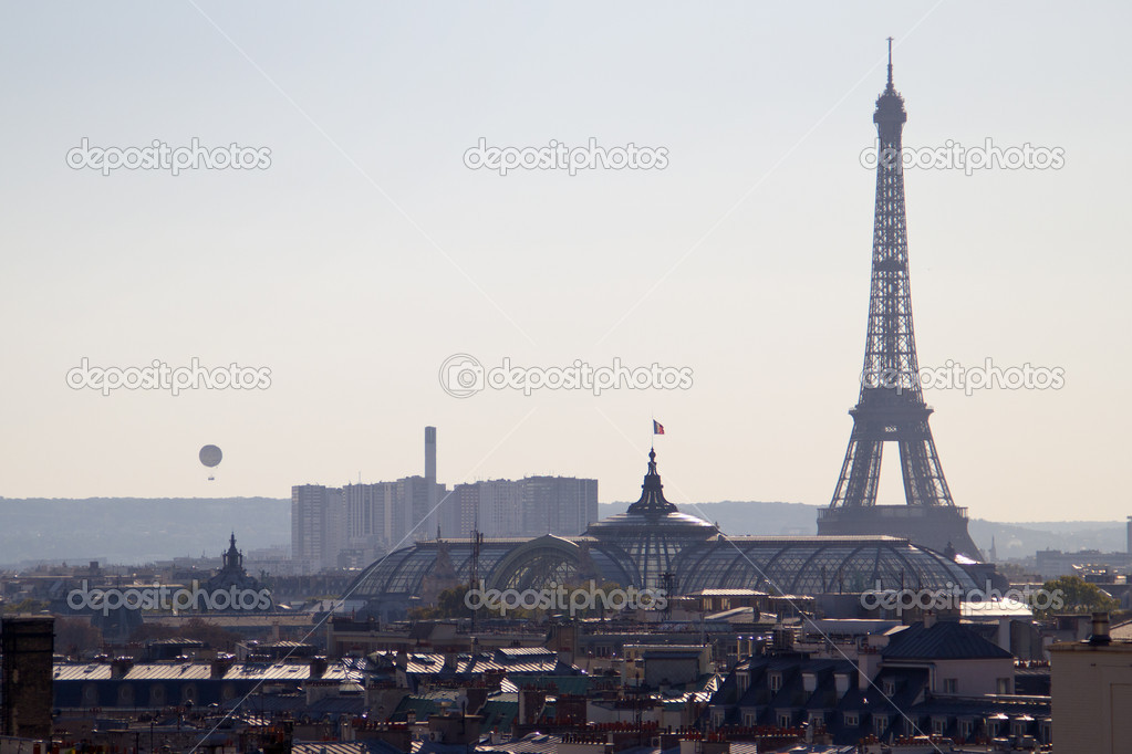 A picture taken inside Paris - France — Stock Photo #7280071