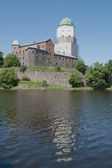 Thу Vyborg castle in the summer day — Photo