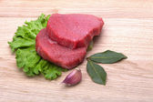 Carne con verduras — Foto de Stock