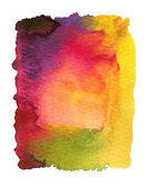 Abstract watercolor painted background — Stock Photo