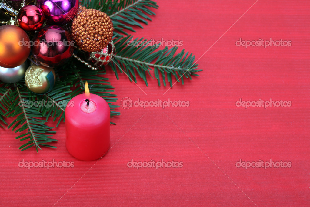 Christmas background — Stock Photo #7280558