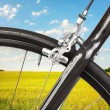 Detail of road bicycle — Stock Photo #7591306