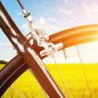 Detail of road bicycle — Stock Photo #7591311