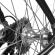 Bicycle detail — Stock Photo