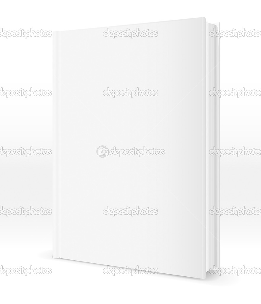 Book template — Stockvectorbeeld #7867201
