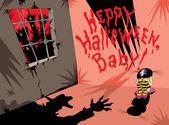 Baby halloween — Stock Vector