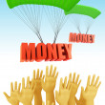 Money prize concept — Stock Photo