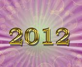 2012 background — Stock Photo
