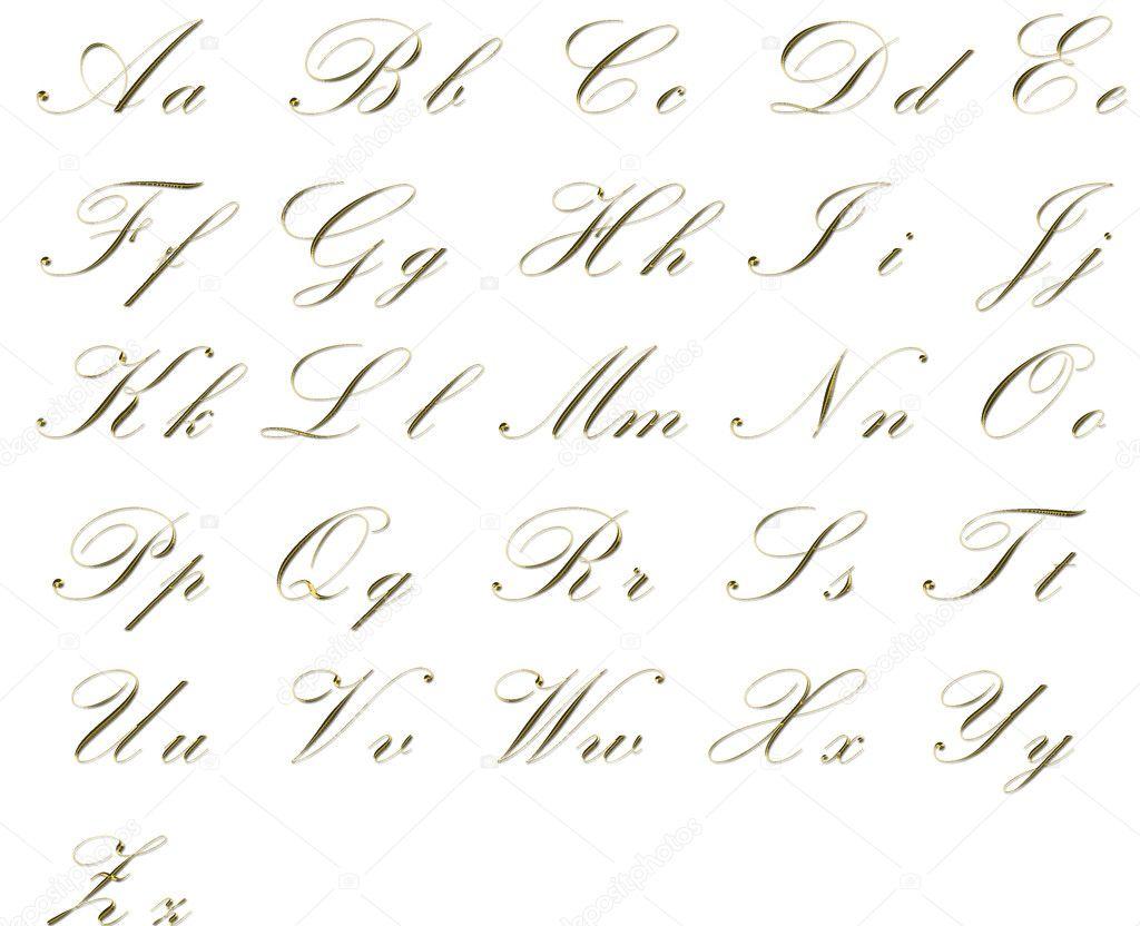 Pin Elegant Alphabet On Pinterest