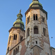 Romanesque church in Krakow — Stockfoto