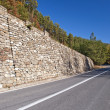 Mountain road curve - Stock Photo