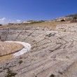 Greek theater in Siracusa Sicily — Stock Photo