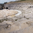 Greek theater in Siracusa Sicily - Foto de Stock
