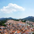 Landscape of Castelo de vide village, Portugal. — Stock Photo