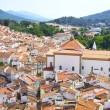 Landscape of Castelo de Vide village, north of Alentejo region — Stock Photo