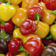 Peppers background — Stockfoto