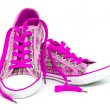 Stock Photo: Pink sneakers
