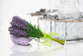 Bunch of lavender flower — Stock Photo