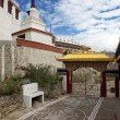 Gate way of Thiksey Gompa — Stock Photo #6935044