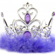 Purple crown — Stock Photo