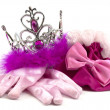 Stock Photo: Pink princess accessories