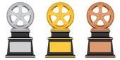 Award-rad — Stockfoto