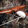 Stock Photo: Wooden spear gun