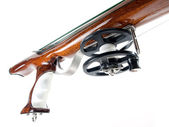 Speargun handle — Stock Photo
