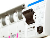 Electric fuses — Stockfoto