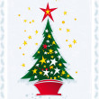 Christmas tree — Stock Vector #7399069
