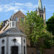 Church in Aachen (Germany) - Stock Photo