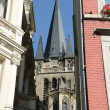 Street in Aachen (Germany) - Stock Photo