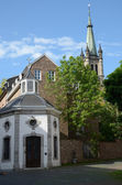 Church in Aachen (Germany) — Stock Photo