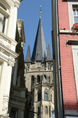 Street in Aachen (Germany) — Stock Photo