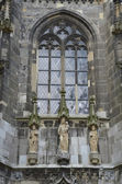 The Cathedral in Aachen (Germany) — Stock Photo