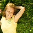 Happy young blonde — Stock Photo #6813497