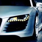 German luxury sport car — Stock Photo