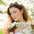 Feeling the sping — Stock Photo