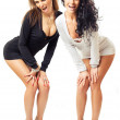 Two sexy girls — Stock Photo #6832085
