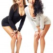 Stock Photo: Two sexy girls