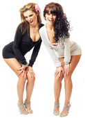 Two sexy girls — Stock Photo