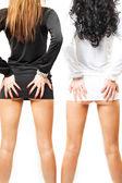 2 つのセクシーな女の子 — ストック写真