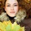 Autumnal portait — Stock Photo