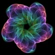Cosmic flower — Stock Photo