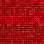 czerwone serca wzór — Zdjęcie stockowe