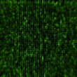 Photo: Matrix style background