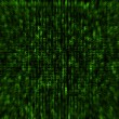 Matrix style background - Stock Photo