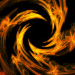 Fire swirl — Stock Photo